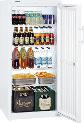 Liebherr FK 5440 Freistehender weißer Getränkekühler - Getränkekühler (freistehend, weiß, 5 Regale,...