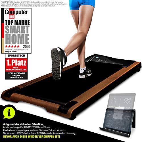 DESKFIT DFT200 Laufband für/unter Schreibtisch - fit und gesund im Büro & zu Hause. Bewegen und...
