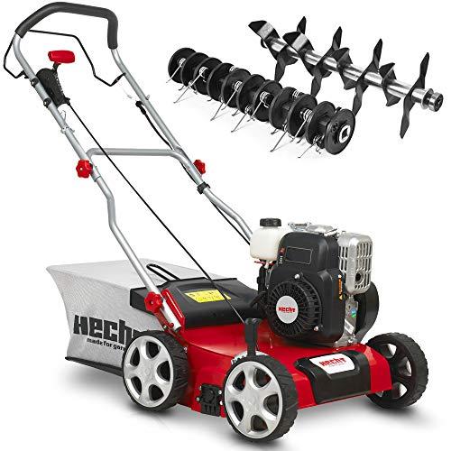 (NEU) HECHT 2-IN-1 Benzin Vertikutierer/Lüfter für optimale Rasenpflege – 2,5 kW / 3,4 PS – 40 cm...