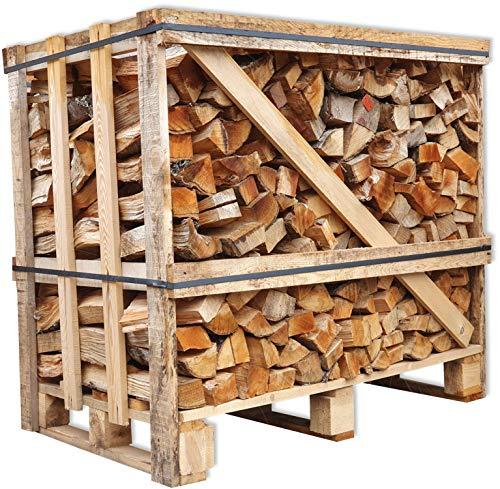 Brennholz Buche 25cm trocken + UNION Kaminbriketts Gratis Kaminholz ofenfertig Ofen Holz Feuerholz Scheitholz...
