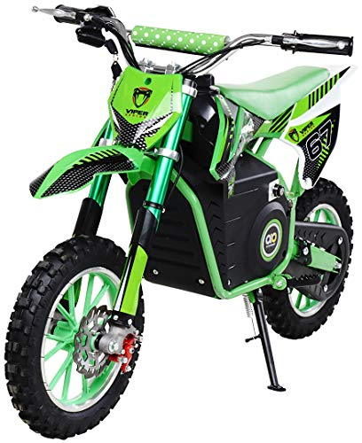 Actionbikes Motors Mini Kinder Crossbike Viper 1000 Watt - 36 Volt - Wave Scheibenbremsen - 3...