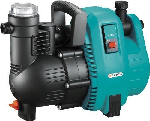 Gardena Comfort Gartenpumpe 4000/5: Bewässerungspumpe mit Fördermenge 4000 l/h, integrierter Filter,...