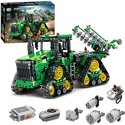 Technik Ferngesteuert Traktor, 1706 Teile Technic Groß Motorisierter Traktor Modell für 9620 RX Bausteine...