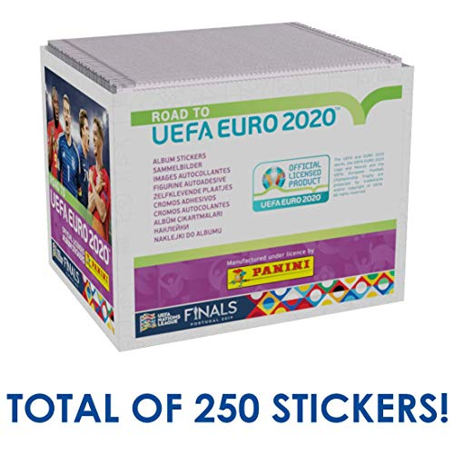 Panini - Road to UEFA Euro 2020 - Sammelsticker - 1 Display (50 Tüten)