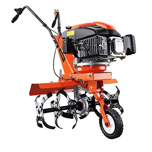 FUXTEC Benzin Gartenfräse SET FX-AF1139 inkl Breitenerweiterung Motorhacke Ackerfräse Bodenfräse Bodenhacke...