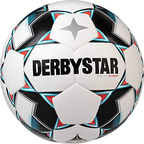 Derbystar Kinder Brillant S-Light DB, 1027300162 Fußball, Weiss blau schwarz, 3