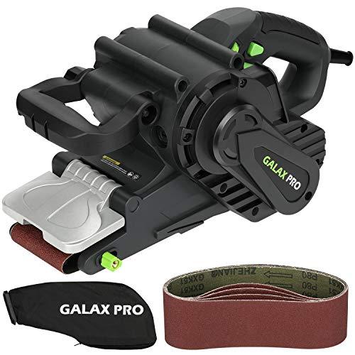 GALAX PRO S1T-SW19-76A Bandschleifer mit Drehzahlregelung & Staubsaugeranschluss, inkl. Staubbeutel &...