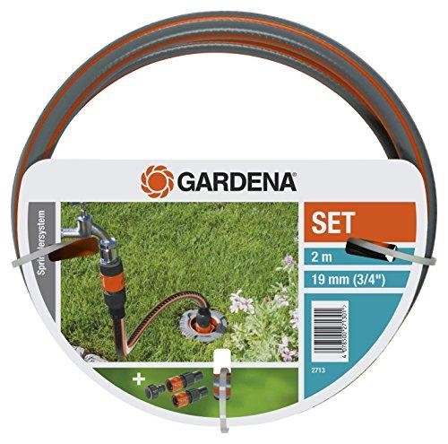 Gardena Profi System Anschlussgarnitur: Komplett-Set zum Anschluss von Pipeline und Sprinklersystem an die...