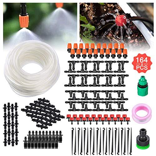 Tvird Bewässerungssystem Garten, Micro Drip Bewässerung Kit Nebeldüse Nebel Sprühdüse Bewässerung...