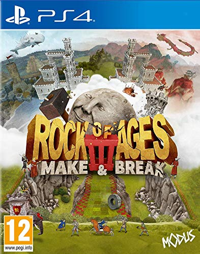 justforgames Rock of Ages 3 Make & Break - PS4