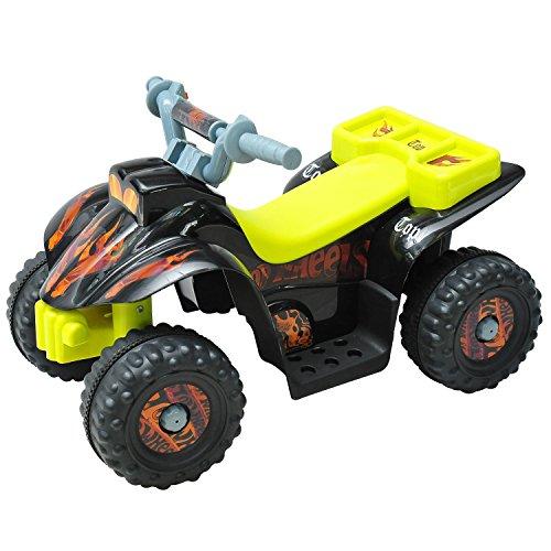 HOMCOM Quad ATV Kinderauto Kinderwagen Elektroauto Kinderfahrzeug Kindermotorrad Elektroquad Kinderquad...