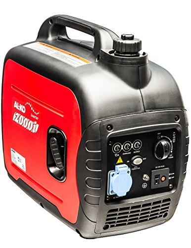 AL-KO Stromerzeuger 2000i (1.6 kW Motorleistung, 79 ccm Hubraum 4-Takt, 5 Stunden Laufzeit (max.), 4 L...
