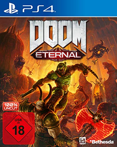 DOOM Eternal inkl. Metal Plate (Exkl. bei Amazon) [Playstation 4]