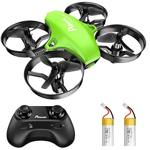 Potensic Mini Drohne für Kinder und Anfänger mit 2 Akkus, RC Quadrocopter, Mini Drone mit Höhenhaltemodus,...