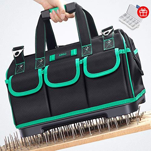 AIRAJ16 Zoll Werkzeugtasche Aufbewahrungstasche, wasserdichte Werkzeugtasche, verstellbarer Schultergurt,...