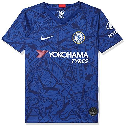 Nike Kinder CFC Y NK BRT STAD JSY SS HM T-Shirt, Rush Blue/White, M