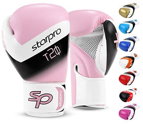 Starpro | T20 Boxhandschuhe für Harte Schläge & schnelles K.O. | Boxhandschuhe Männer, Boxhandschuhe Damen,...