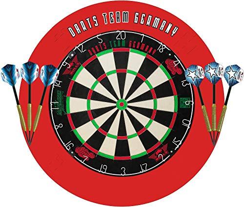 Bull´s & Shot Dart Bristle Turnier Dartboard Dartscheibe Set Darts Team Germany Max HOPP & Martin Schindler...