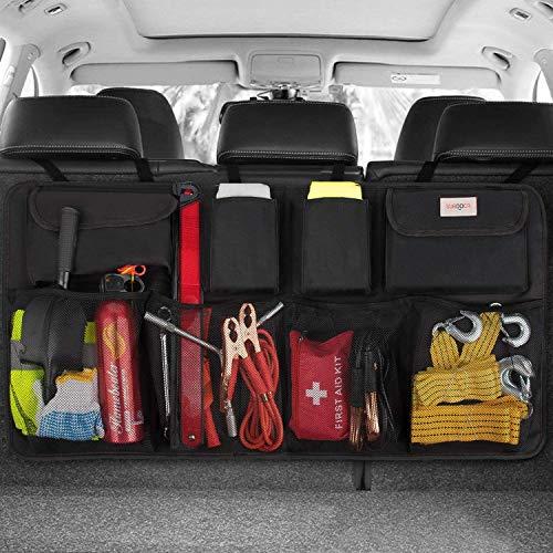 SURDOCA kofferraum organizer auto - 3rd Gen [doppelte Kapazität] organizer auto, ausgestattet mit [Starkes...