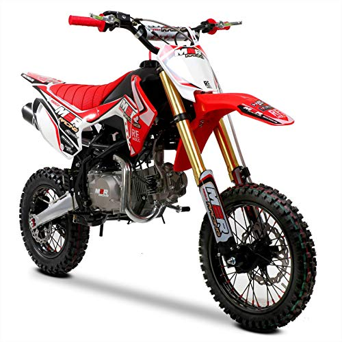 001 Racing RF140 S2 140cc 14/12 82cm Red Pit Bike, Unspecified