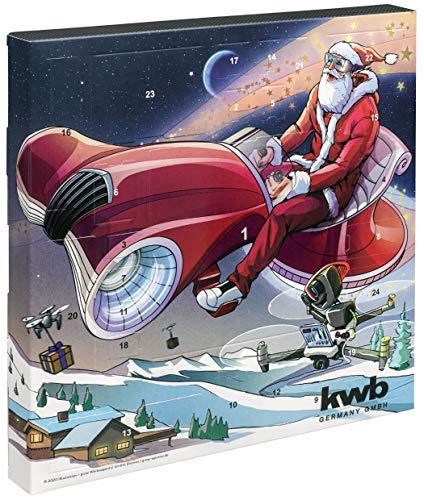 kwb Adventskalender - Edition 2019 - Der originelle Weihnachtskalender für Männer, Kalender mit...