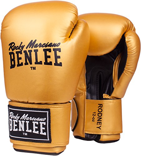 BenLee Rocky Marciano Unisex Training Gloves RODNEY Gold/Black 12 oz