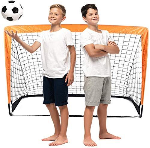 Raroauf faltbar Tor, Fußball Tor Pop Up Fussballtor klappbar Fussballtore für Kinder Garten Fussball Tor...