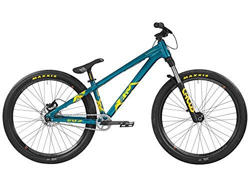 Bergamont Kiez Dirt 26'' MTB Fahrrad blau/gelb 2016: Größe: L (170-180cm)