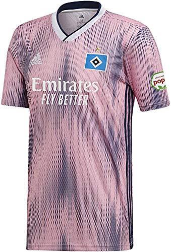 adidas Performance Hamburger SV Trikot Away 2019/2020 Herren rosa/dunkelblau, XXXL