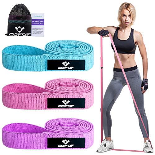 COFOF Resistance Bands Fitness Bänder, Theraband Terra Band Gymnastikband Gummiband Klimmzugband für Frauen,...