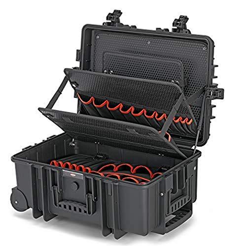 KNIPEX Werkzeugkoffer 'Robust45 Move' leer 00 21 37 LE