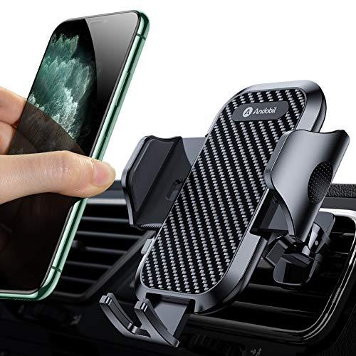 andobil Handyhalterung Auto Handyhalter fürs Auto Lüftung Upgrade mit 2 Lüftungsclips Handy Halterung pkw...