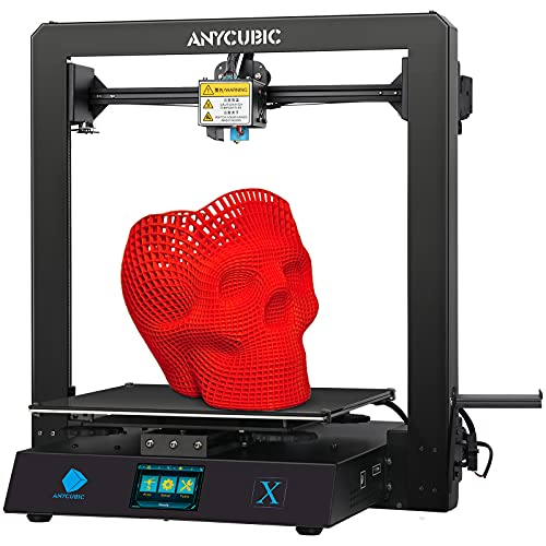 ANYCUBIC 3D Drucker MEGA X, FDM 3D Drucker mit Metallrahmen, Lebenslaufdruck und kostenlosem 1 kg PLA...