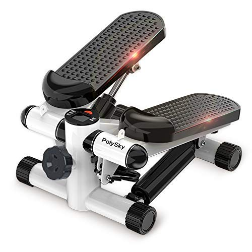 Merpin Stepper Hometrainer Stepper mit verstellbarem Widerstand und kabellosem Trainingscomputer –...
