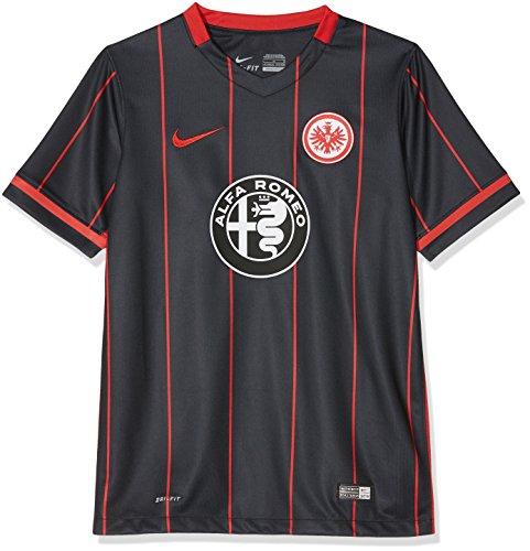 Nike Kinder Eintracht Frankfurt Home Stadium 2015/2016 Heimtrikot, schwarz, 158/170