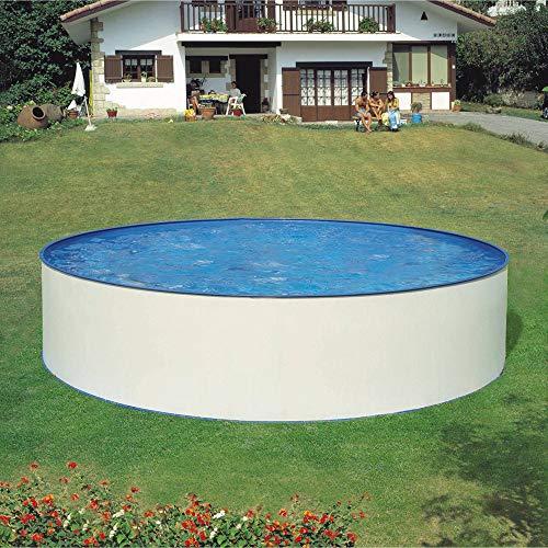 Waterman Stahlwandpool rundform 400x105 cm