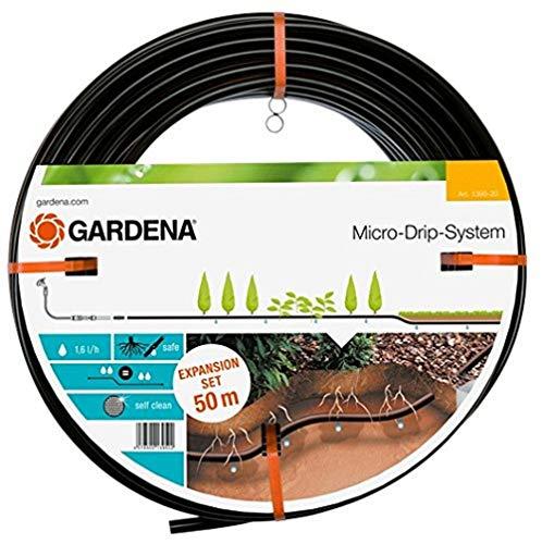 Gardena Micro-Drip-System Tropfrohr unterirdisch 13.7 mm: Wassersparende Perlschlauch-Verlängerung zur...