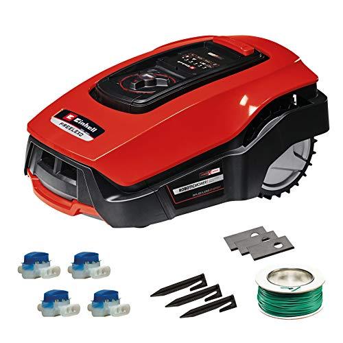 Einhell Mähroboter FREELEXO 500 m² Kit Power X-Change (Li-Ion, bis zu 500 m², Multizonen-Modus, bis 35%...