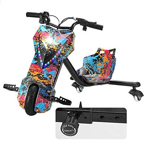 Elektrische Drift-Trikes Kart Electric Scooter 3-Stufiges Design Mit Einstellbarer Länge Hinzugefügt...