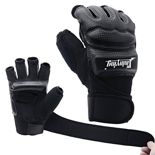 Xinluying MMA Handschuhe Boxhandschuhe Boxsack Sandsack Kickboxen Kampfsport Taekwondo Sparring Bandage Herren...