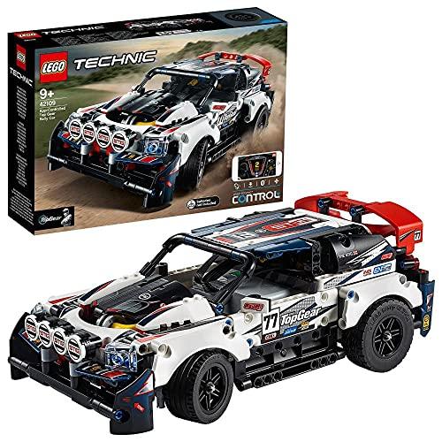 LEGO 42109 Technic Control+ Top-Gear Ralleyauto mit App-Steuerung, Rennauto, ferngesteuertes Auto, Spielzeug...