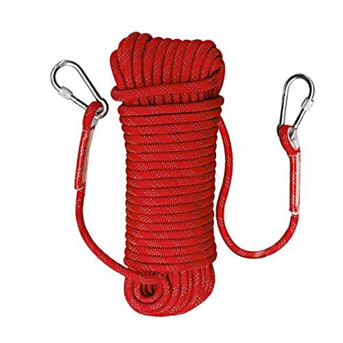 Trintion 12mm 20 Meter Kletterseil Sicherheitsseil Survival Seil Climbing RopeSeil Multifunktionsseil für...