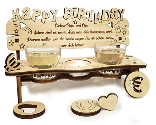 PISDEZ schönes Geburtstagsgeschenk für Frauen - für Mama - für Oma - für Männer - für Papa - für Opa -...