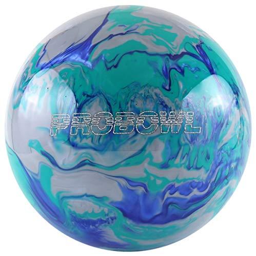 Pro Bowl Bowling-Ball Bowling-Kugel für Einsteiger und Profis Polyesterball Räumball Größe 8 LBS