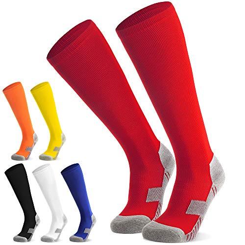 Fußballsocken Stutzen Kinder Jugendliche Socken Fußball Strümpfe - Sportsocken Trainingssocke Sockenstutzen...