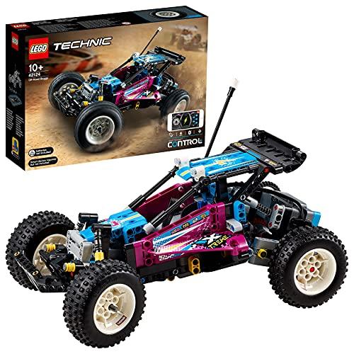 LEGO 42124 Technic Control+ Geländewagen, ferngesteuertes Offroad-Auto, Spielzeugauto, RC Buggy für Kinder,...