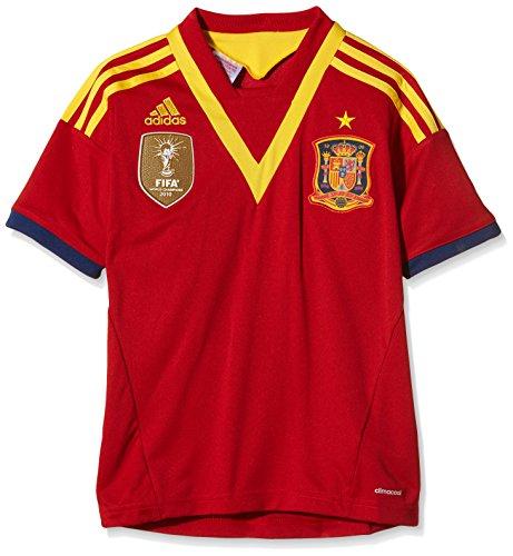 adidas Erwachsene Trikots Spanien Home, Unired/Real Blue/Sunshi, 140, X53322
