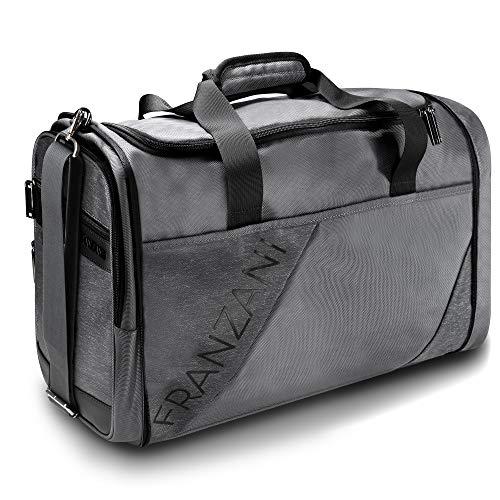 Franzani® Sporttasche für Sie und Ihn 45L - wasserfest, robust & langlebig - mit Schuhfach & individuell...