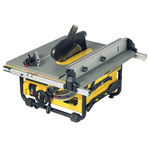 DeWalt Tischkreissäge DW745 – Leistungsstarke Säge mit Parallel- und Gehrungsanschlag für höchste...