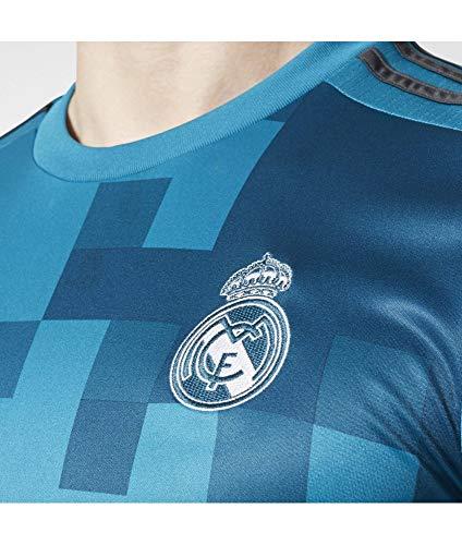 adidas Real Madrid Trikot 3rd 2017/2018 Herren, Blau (Blau / Blau / Weiß) S - 46